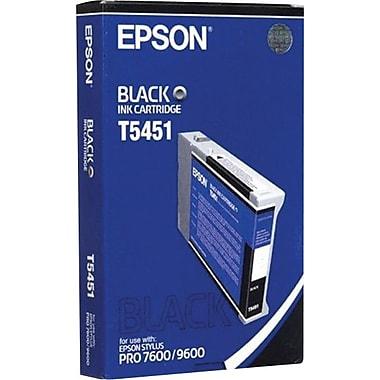 Epson® – Cartouche d'encre photo T545100, noir