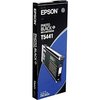 Epson® – Cartouche d'encre photo UltraChrome noire T544100