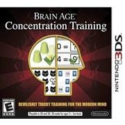 Nintendo® CTRPASRE Brain Age Concentration, Educational, Nintendo 3DS