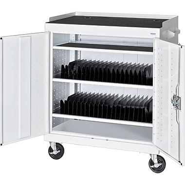 Sandusky Mobile Tablet Cart, Standard White