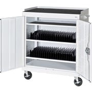 Sandusky Mobile Tablet Cart, Standard White