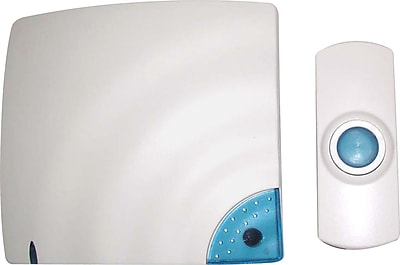 Tatco Wireless Doorbell, Bone, Each (57910)
