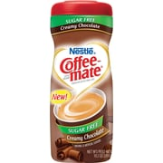 Nestle® Coffee-mate® Coffee Creamer, Sugar-Free Creamy Chocolate, 10.2 oz Powder Creamer, 1 Canister