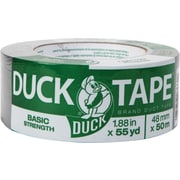 "Basic Strength Duck Brand Duct Tape, 1.88"" x 55 Yards"