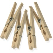 Honey Can Do Wood Clothespins with Spring, 200 Pack