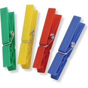 Honey Can Do® Plastic Clothespins, 200/Pack