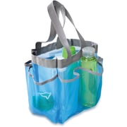 Honey Can Do 6 Pocket Shower Tote, Blue (SFT-01103)