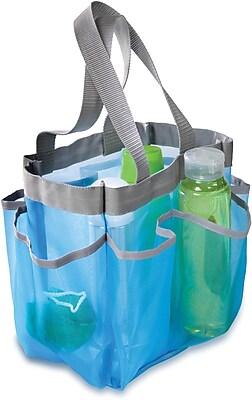Honey Can Do® 6 Pocket Shower Tote; Blue