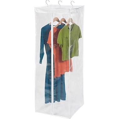 Honey Can Do Hanging Peva Storage Closet, Jumbo, white/clear (SFT-01414)