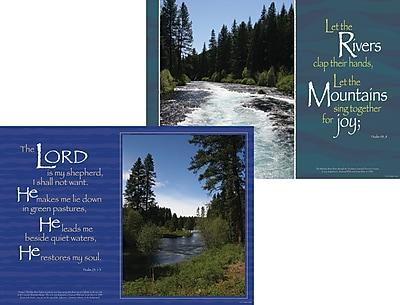 Barker Creek Peaceful Waters Poster Duet, 13 3/8