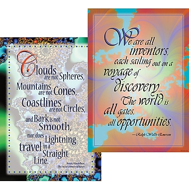 Barker Creek Unlimited Possibilities Poster Duet, 13 3/8