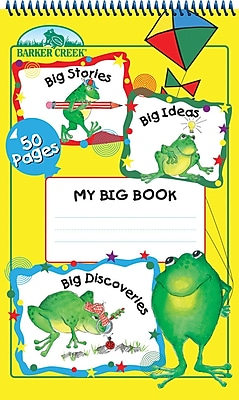 Barker Creek My Big Book Tablet, 4+ Age