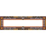 """Barker Creek Africa Desk Tag, 12"""" L x 3 1/2"""" W"""