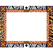 "Barker Creek Africa Name Tag, 3 1/2"" W x 2 3/4"" D"
