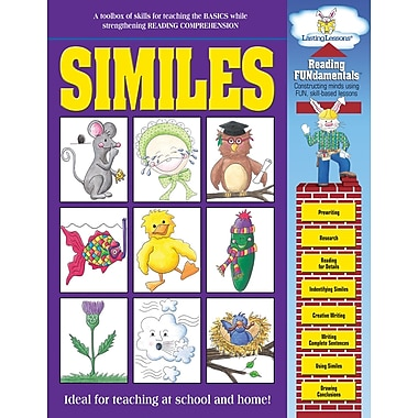 Barker Creek Similes Activity Book, 48 Pages