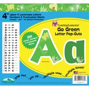 "Barker Creek Go Green 4"" Letter Pop Out, All Age"