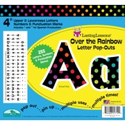 "Barker Creek Over the Rainbow 4"" Letter Pop Out, All Age"