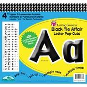 "Barker Creek Black Tie Affair 4"" Letter Pop Out, All Age"