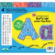 "Barker Creek Surf's Up! 4"" Letter Pop Out, All Age"