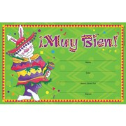 Barker Creek Muy Bien Award, 8 1/2 inch x 5 1/2 inch  by