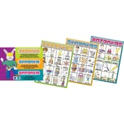 "Barker Creek Homonyms, Synonyms and Antonyms Chart Set, 17"" x 22"""