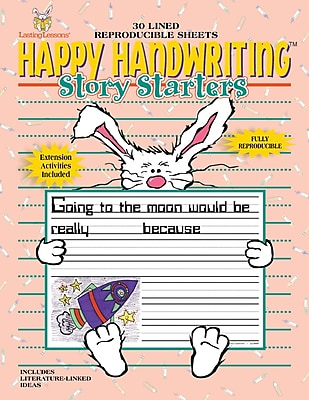 Happy Handwriting™ Story Starters 1st - 2nd Tablet, 1 - 4 Grade