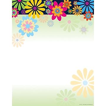 Barker Creek Italy Flowers Stationery