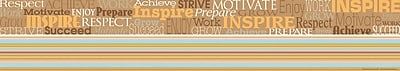 Barker Creek Word Wall - Inspire Double Sided Trim, 35