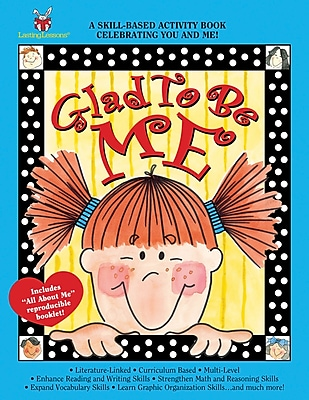 Barker Creek Glad to be Me Activity Book, 4 - 9 Age