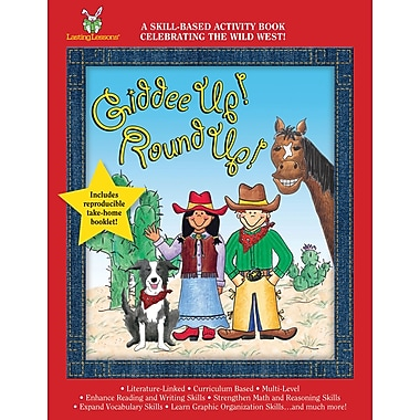 Barker Creek Giddee Up! Round Up! Activity Book, 4 - 9 Age