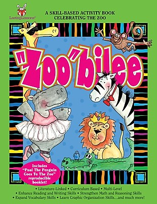 Barker Creek Zoobilee Activity Book, 4 - 9 Age