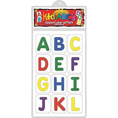 Barker Creek Magnetic KidABC's™ Uppercase Letter, 3 - 8 Age