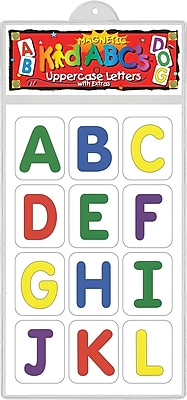 Magnetic KidABC's™ Uppercase Letter, 3 - 8 Age