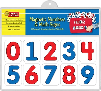 Learning Magnets® Number and Math Sign, 4 - 9 Age