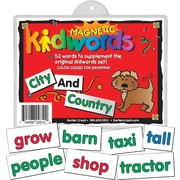 Magnetic Kidwords® City and Country, 4+ Age