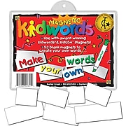Barker Creek Learning Magnets Kidwords Make Your Own Word, 3+ Age