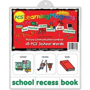 PCS® Learning Magnets® 45 School Word, 3+ Age