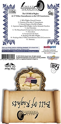 Bill of Rights Audiobook - Download