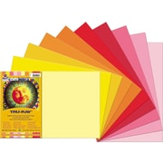 "Tru-Ray® Sulphite Construction Paper, Warm, 18"" x 12"", 50 Sheets"