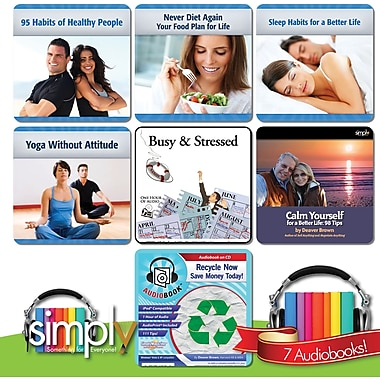 Health, Happiness & Wellness Audiobooks Collection [Download]