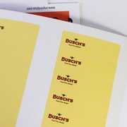 The Mighty Badge Insert Sheet Pack for Any Printer, White