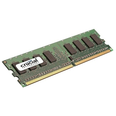 Crucial CT12864AA667 1GB DDR2 240-Pin Desktop Memory Module