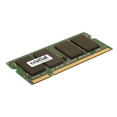 Crucial 2GB (1 x 2GB) DDR2 (200-Pin SO-DIMM) DDR2 800 (PC2 6400) Universal Laptop Memory