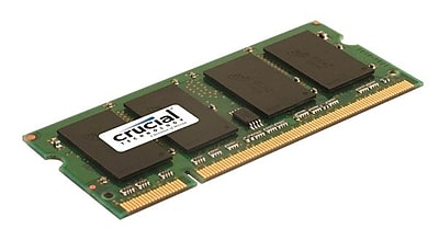 Crucial 2GB (1 x 2GB) DDR2 (200-Pin SO-DIMM) DDR2 667 (PC2 5300) Universal Laptop Memory