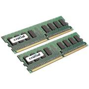 Crucial Technology – Mémoire d'ordinateur de bureau CT2KIT25664AA667 DDR2 (DIMM à 240 broches) de 4 Go