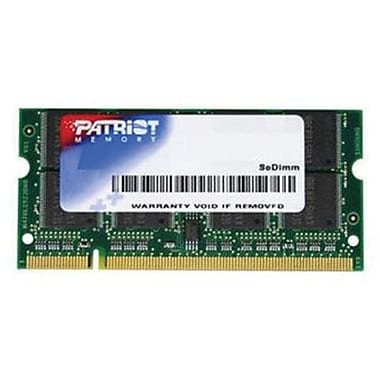 Mémoire universelle pour ordinateur portatif Patriot Signature 2 Go (1 X 2 Go) DDR2 (200 broches) SO-DIMM DDR2 800 (PC2 6400)