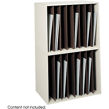 Safco® 3030 Art Rack, Putty