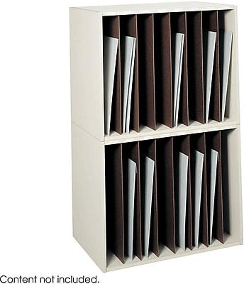 Safco® 3030 Art Rack, Putty