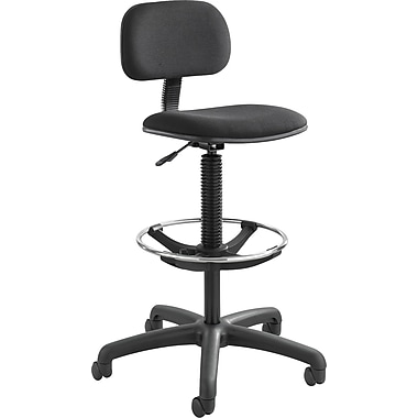 Safco® 3390 Nylon Economy Extended-Height Chair, Black