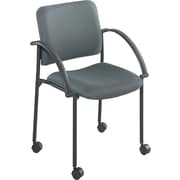 Safco® Moto™ 4184 Stacking Chair, Charcoal